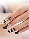 europeen noir de l\'etoile d\'or&blanc grande longueur faux ongles conseils d\'art
