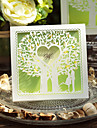 Hollow Love Tree Design Wedding Invitation-Set Of 50/20