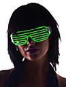 lysa upp nyanser glasögon el tråd ledde glöd solglasögon 2AA batterier (blandade färger)