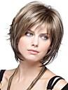 senhora mulheres perucas de cabelo sintetico curto