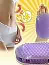badrum massage borste magi till fett (slumpvis färg)