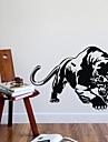 väggdekorationer väggdekaler, leopard jaguar pvc väggdekorationer