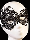 Fashion Swan Pattern Lace Party Mask