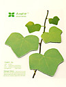 feuilles de simulation scrapbooking 45 pages de notes repositionnables (vert)