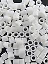 ca 500st / väska 5mm vita säkrings pärlor Hama Pärlor DIY sticksåg eva material safty för barn hantverk