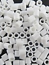 environ 500pcs / sac 5mm perles Perler blanc fusibles perles perles hama diy puzzle eva materiau safty pour les enfants