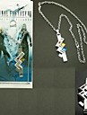 Smycken Inspirerad av Final Fantasy Lightning Animé/ Videospel Cosplay Accessoarer Halsband Silver Legering Man / Kvinna