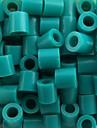 ca 500st / väska 5mm sjö blå Perler pärlor säkrings pärlor Hama Pärlor DIY sticksåg eva material safty för barn