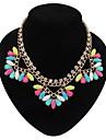 zoanna kvinnors europeisk stil stort halsband 109530