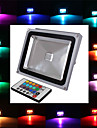 1 Integrate LED 2900 LM RGB Remote-Controlled LED Flood Lights AC 85-265 V