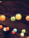 10 conduit fete de mariage de lanterne solaire lampe de jardin guirlande lumineuse de Noel en plein air
