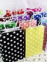 hantverk parti polka dot paper gif påsar bärbara papperspåse