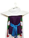 Inspire par Dragon Ball Piccolo Anime Costumes de cosplay Costumes Cosplay Mosaique Violet Sans Manches Cape / Top / Collant / Ceinture