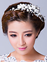 Women\'s Alloy / Cubic Zirconia Headpiece-Wedding / Special Occasion Flowers Clear