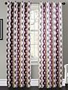 Philips jeunes - deux panneaux couleurs contemporaines chaudes chevauchent rideaux de rideaux treillis