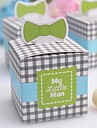 """My Little Man"" Favor Box(Set of 12)"