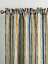 philips unga - (två paneler) samtida flerfärg minimalist striola gardin