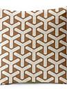 geometrisk bomull / linne dekorativa örngott