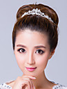 Women\'s Rhinestone / Alloy Headpiece-Wedding / Special Occasion Tiaras Clear