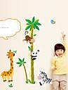 벽 스티커 벽 데칼, 만화 코코 PVC 높이 벽 스티커