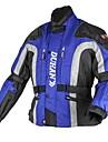 la antifriction des hommes duhan® et coupe-vent veste moto croisiere avec doublure amovible en coton