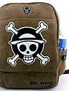 Sac Inspire par One Piece Cosplay Anime Accessoires de Cosplay Sac / sac a dos Marron Toile / Nylon Masculin