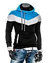 Lesen män hoodie spell färg mode tunn fleece casual långärmade hoodie o