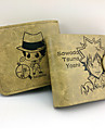 Väska / Plånböcker Inspirerad av Reborn! Tsunayoshi Sawada Animé Cosplay Accessoarer Plånbok Gul Läder / PU Läder Man