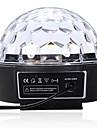 LT-85364 telecommande six couleurs conduit projecteur laser magie de boule de cristal (240v.1x projecteur laser)