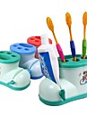 Tandborsthållare Dusch Plast Multifunktion / Miljövänlig / Present