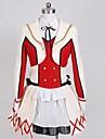 Inspire par Aime la vie Kotori Minami Anime Costumes de cosplay Costumes Cosplay Couleur Pleine Blanc / RougeManteau / Chemise / Jupe /