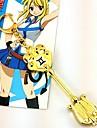 Smycken Inspirerad av Fairy Tail Lucy Heartfilia Animé Cosplay Accessoarer Halsband Guld Legering Man / Kvinna