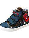 Grön-Platt klack-Pojkar-Komfort / Rund tå-KanvasSneakers
