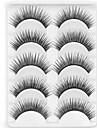 Nouvelle longue epaisse oeil 5 paires naturel noir faux cils tendre des cils cils pour les extensions des yeux