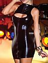 Cosplay Kostymer/Dräkter Uniformer Festival/Högtid Halloween Kostymer svart Klänning Polyurethane Leather