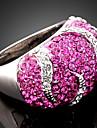 Inele Afirmatoare Aliaj Zirconiu Cubic imitație de diamant La modă Culoare ecran Bijuterii Petrecere 1 buc