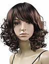les femmes afro perruques milieu de bande pleine synthetique boucles vague chaleur fibre resistante cheveux perruque fete pas cher cosplay