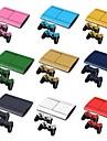 B-Skin PS3 Slim 4000 3d kolfiber konsol skyddande klistermärke täcker flår controller hud klistermärke