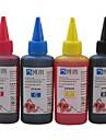 encre a colorant Bloom® approprie pour epson ciss recharge pour epson cartouche d\'encre 100ml (4 couleurs 1 lot)
