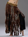 Belly Dance Stage Performance Tribal Style Flared Skirt(More Color)