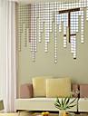 Forme Stickers muraux Miroirs Muraux Autocollants Stickers muraux decoratifs Materiel Repositionable Decoration d\'interieur Calque Mural