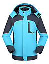 deux pieces de deshengren hiver homme trois-en-un veste de ski thermique coupe-vent