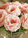 Une succursale Soie Roses Fleur de Table Fleurs artificielles 6 x 15 x 38(2.36\'\' x 5.91\'\' x 14.96\'\')