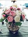 Une succursale Soie Roses Fleur de Table Fleurs artificielles 30(11.81\'\')