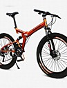Mountain Bikes / Folding Cyklar Cykelsport 26 tum/700CC Herr / Kvinnors / Unisex Vuxen Rockefeller ALUMINIUMLEGERINGOrange / Gul /