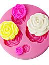 Four-C fondant dekorera form 3d steg tårta utsmyckning leveranser färgen rosa sm-018
