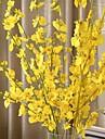 1 Une succursale Soie Plastique Orchidees Fleur de Table Fleurs artificielles 94 5 5