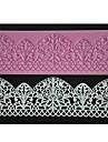 quatre c couleur gateau pad tapis de dentelle de silicone cuisson de decoration de fondant au moule rose