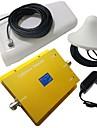 nya 850 / 1900MHz cdma / pcs950 dual band mobiltelefon signal booster förstärkare med log periodisk och tak antenn kit