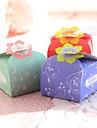 Niet-gepersonaliseerde - Bruiloft/Verjaardag/Bridal Shower/Baby Shower/Quinceanera & Sweet Sixteen - Bloemen Thema - Bedank Doosjes (